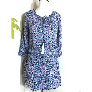 NEW The Limited Geometric Tunic Top Sz Small